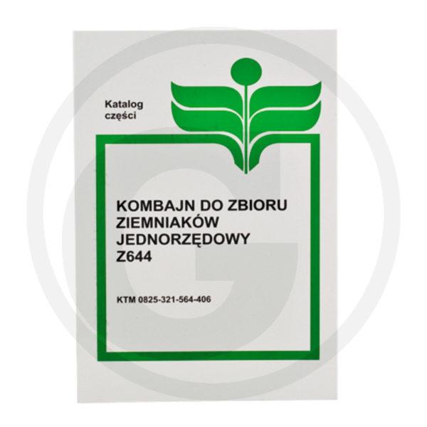 Katalog kombajn ziemniaczany Anna Z-644