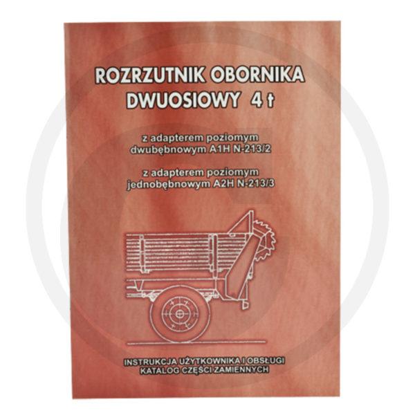 Katalog rozrzutnik obornika A1HN-213/2 / A2HN-213/3 4 tony