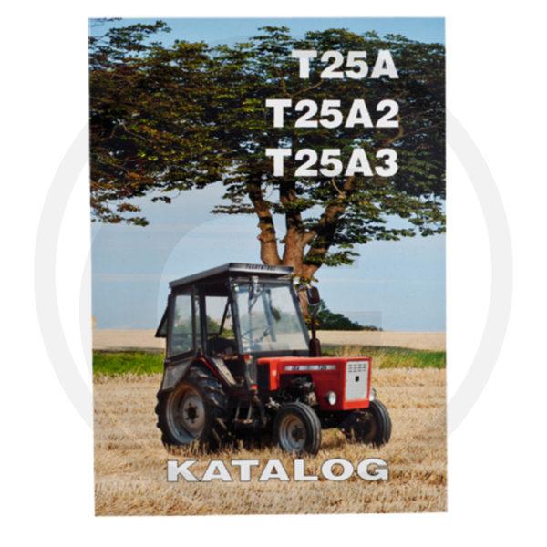 Katalog ciągnik T-25A / T-25A2