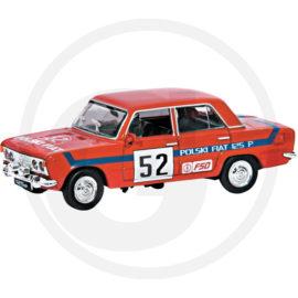 Fiat 125P Rally czerwony Kolekcja PRL