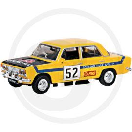 Fiat 125P Rally żółty Kolekcja PRL
