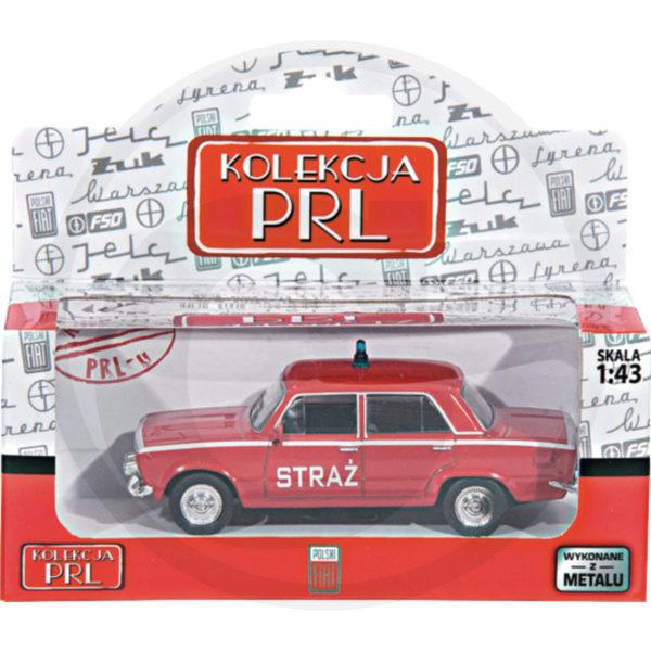 Fiat 125P Straż Kolekcja PRL