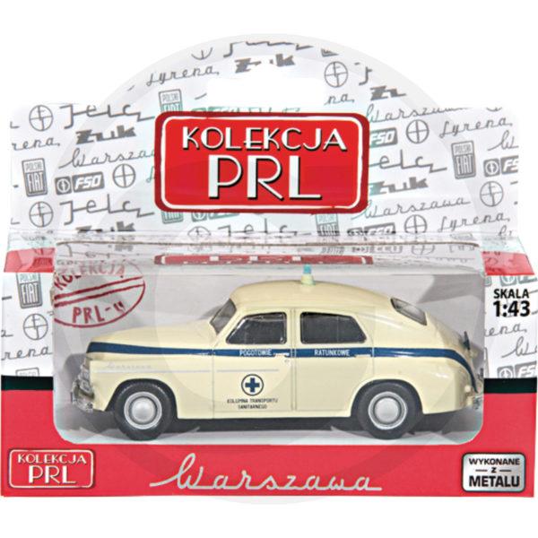 Warszawa M-20 Pogotowie Kolekcja PRL