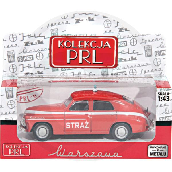 Warszawa M-20 Straż Kolekcja PRL